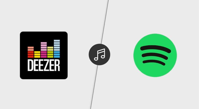 Resultado de imagen de deezer vs spotify